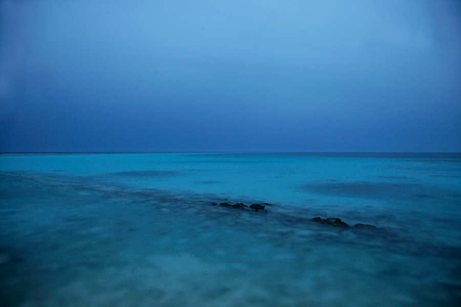 Dusk in the Maldives